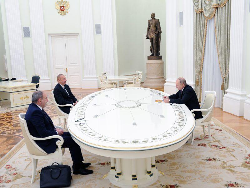 N. Pašinianas: Kalnų Karabacho statusas tebėra neišspręstas klausimas