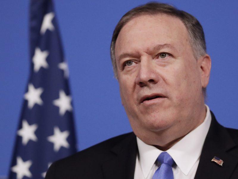 """JAV: Kinija vykdo uigūrų """"genocidą"""""""