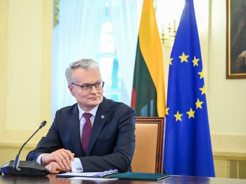 G. Nausėda pristatė Lietuvos užsienio politikos prioritetus