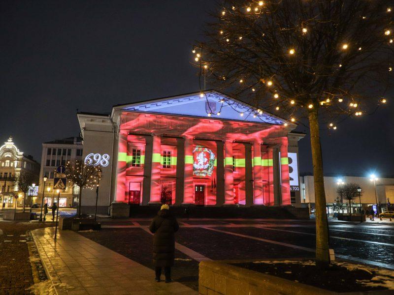 Vilnius švenčia 698-ąjį gimtadienį
