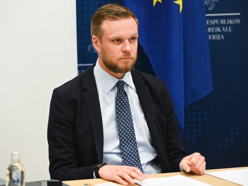 Po Baltarusijos sprendimo Lietuvos URM rengia atsakomąsias priemones