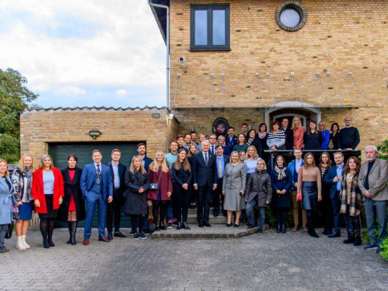 G. Nausėda kvietė Danijos lietuvius puoselėti lietuvybę ir pilietiškumą