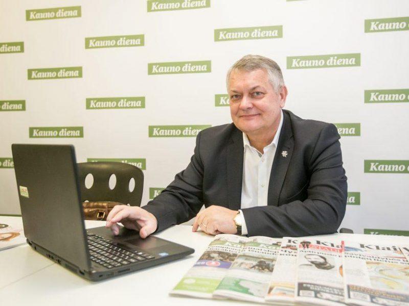 """""""Linavai"""" vadovaus įmonės """"Autopaslauga"""" vadovas R. Austinskas"""