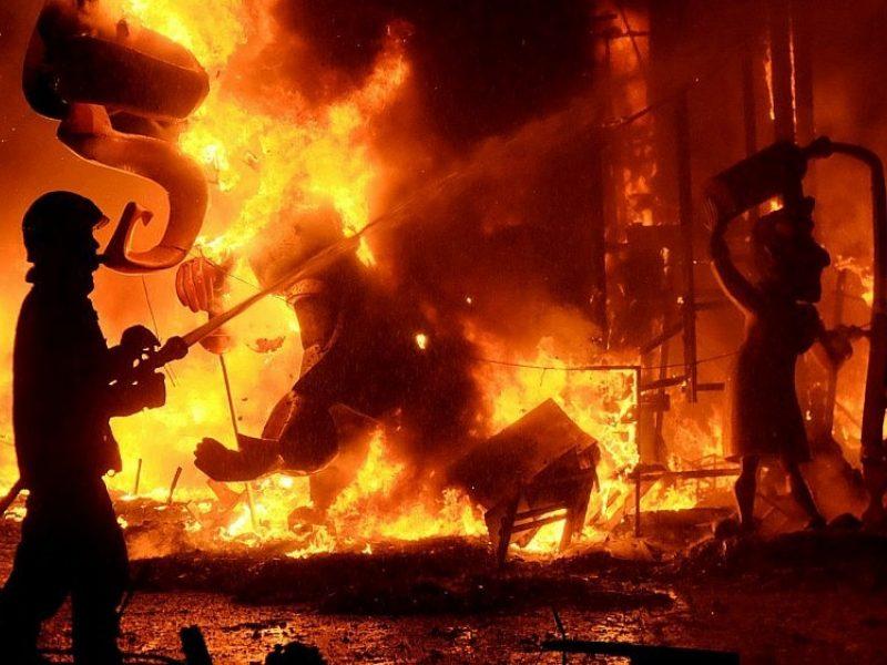 Skuodo rajone gaisre žuvo žmogus