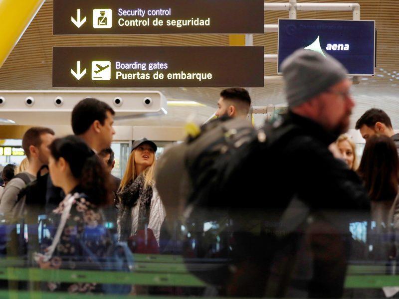 Ispanijos oro uostuose per Velykas gresia streikų chaosas