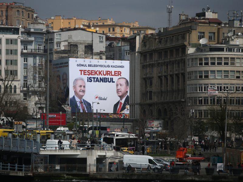 Turkija: panaikinti Stambulo mero rinkimų rezultatai