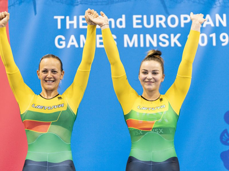 S. Krupeckaitė ir M. Marozaitė antrajame pasaulio taurės etape – ketvirtos