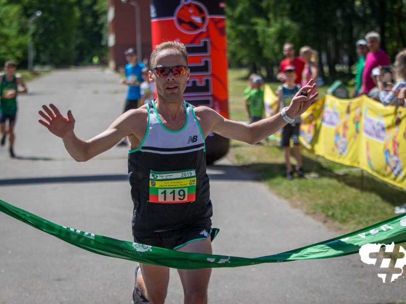 Bėgimą aplink Elektrėnų marias vėl laimėjo M. Viršilas