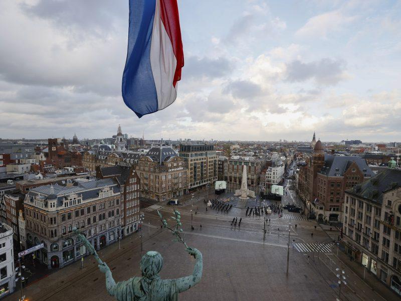 Nyderlandai gegužės 19 d. atšauks kai kuriuos dėl koronaviruso įvestus apribojimus