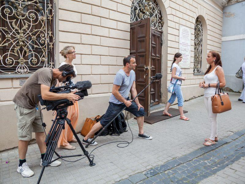Vilniuje atnaujinami filmavimo darbai
