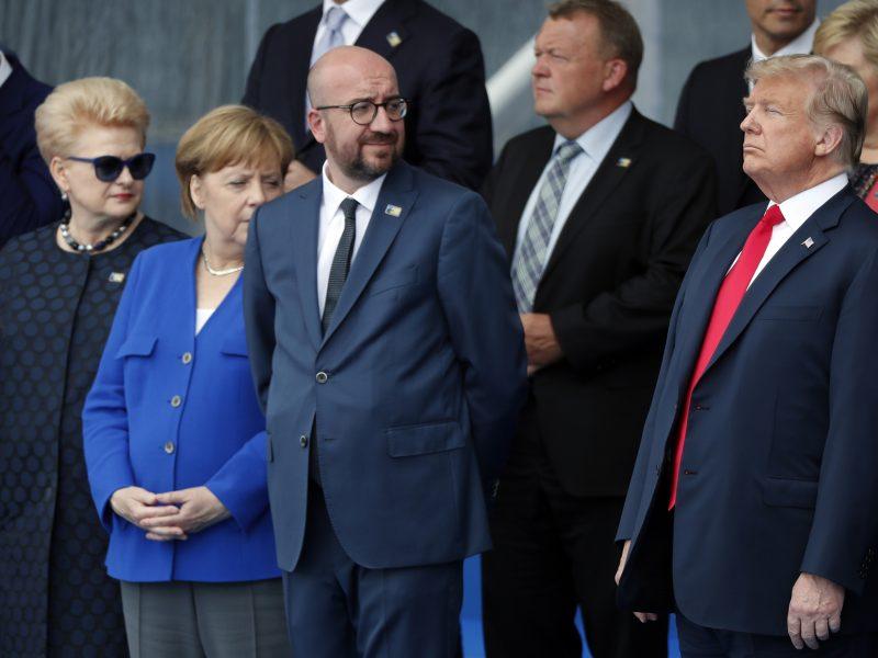 Prezidentūra: NATO karinė vadovybė per metus pateiks siūlymus dėl oro gynybos