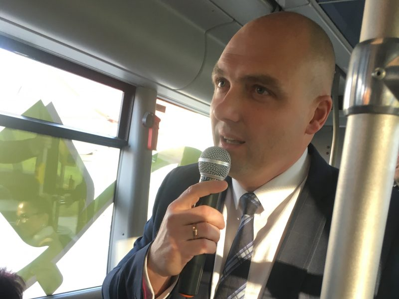"""""""Klaipėdos autobusų parkas"""" turi naują direktorių"""