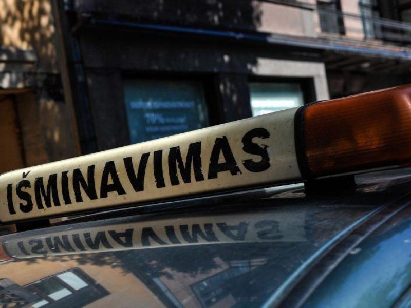 """Vilniuje rastas sprogmuo nepavojingas, planas """"Skydas"""" atšauktas"""