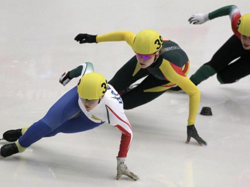 Čiuožėja A. Sereikaitė - Europos jaunimo čempionė