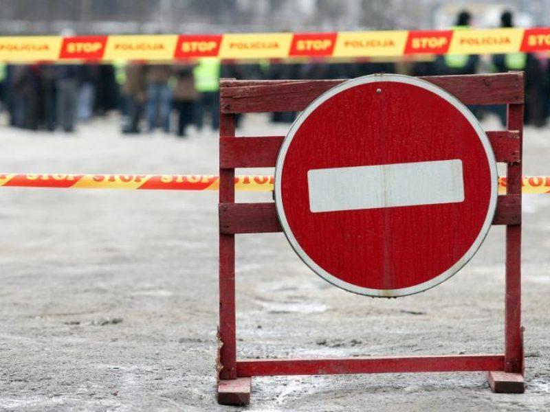 Ties Panevėžio rajonu įvykus avarijai, draudžiamas eismas magistralėje