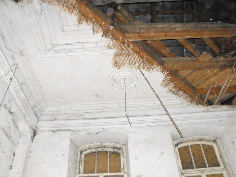 Tvarkoma avarinės būklės Vilniaus sinagoga