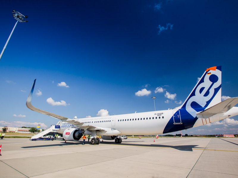 """""""Wizz Air"""" pristato dar testuojamus """"Airbus A321neo"""" lėktuvus"""