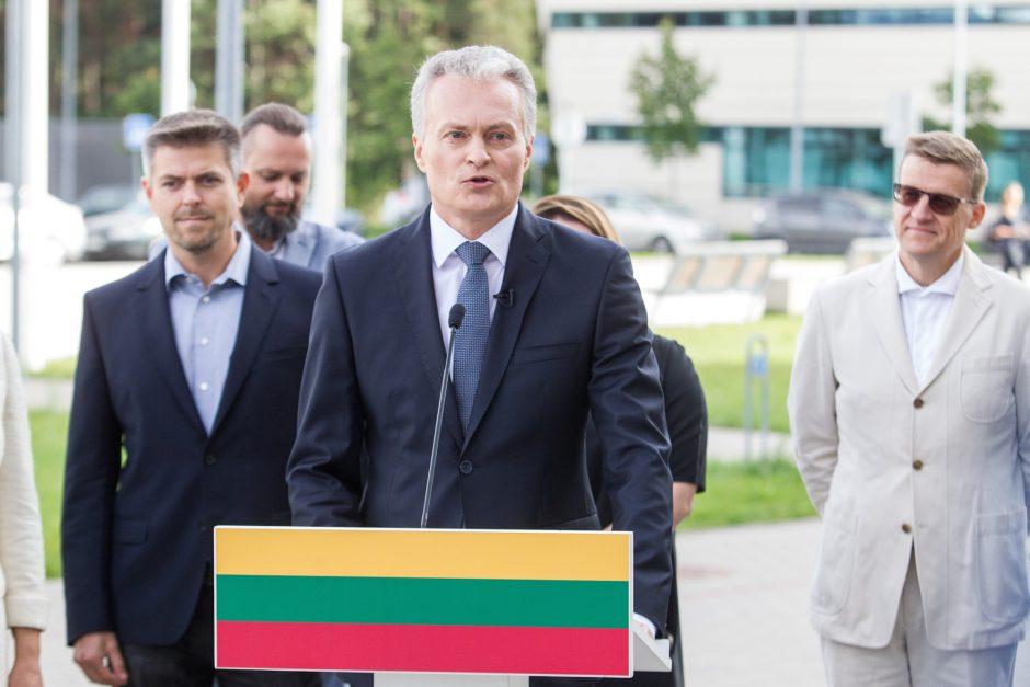 G  Nausėda paskelbė dalyvausiantis prezidento rinkimuose