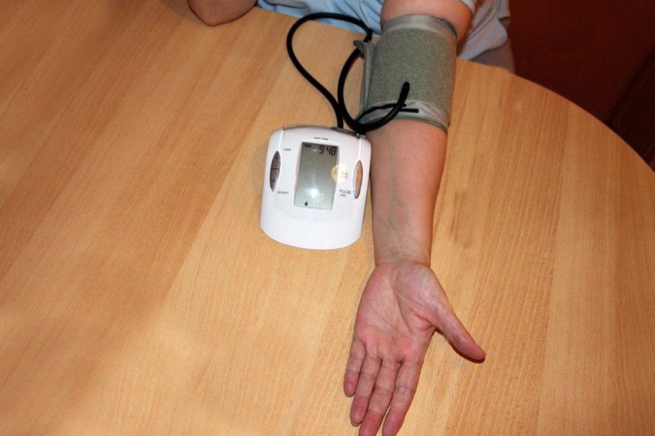 išgydyti hipertenziją per 1 savaitę