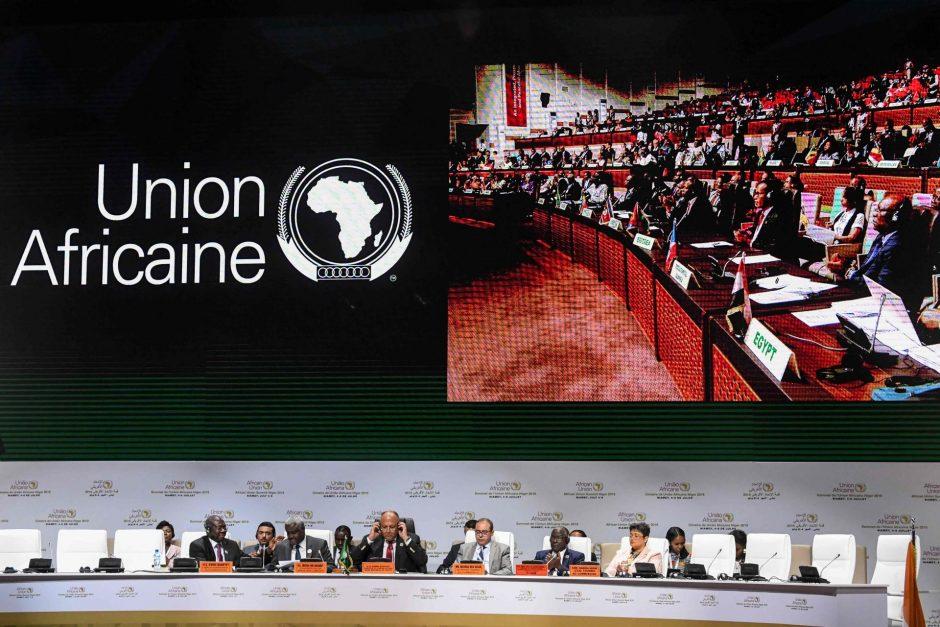 afrikos ir tarptautinės prekybos sistemos