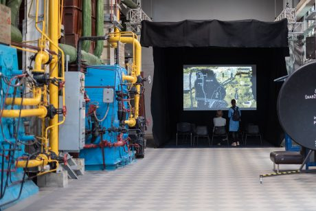 Muziejuje galima išbandyti istorinės elektrinės valdymo simuliatorių