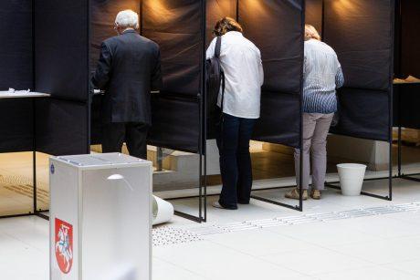 Tęsiamas išankstinis balsavimas savivaldybėse, pradedamas ambasadose