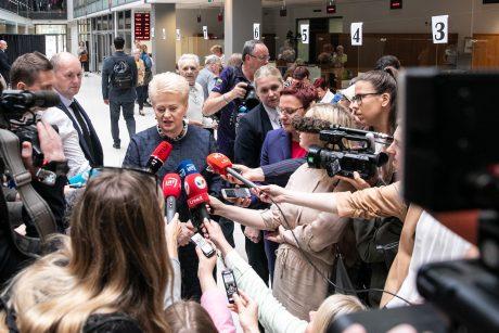 Partijų lyderiai įvertino D. Grybauskaitės valdymo dešimtmetį – klaidų buvo