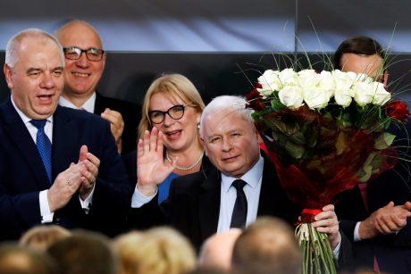 Lenkijos lietuviai: J. Kaczynskio partija laimėjo dėl dosnių pažadų