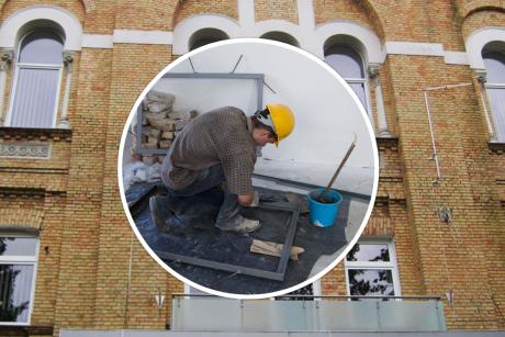 Statytojai kariauja su ligonine: begėdiškai nesumokėjo už remontą?