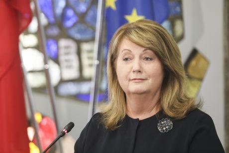 Patvirtino: socialdemokratų pirmininko rinkimus laimėjo V. Blinkevičiūtė