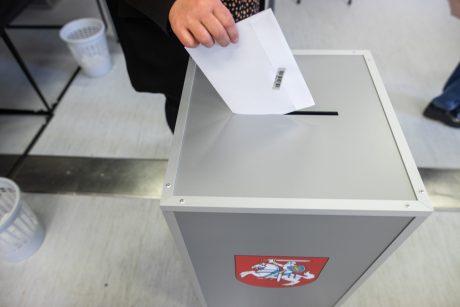 Antrajame Seimo rinkimų ture jau balsavo beveik 10 proc. rinkėjų