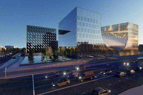 Teismų pastato Vilniuje statybos konkursas nutrauktas dėl per didelių kainų