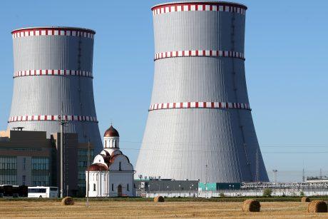 Astravo AE suteiktas leidimas pradėti elektros gamybą pirmajame bloke
