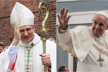 Arkivyskupas K. Kėvalas: popiežius tikrai nekalba apie vienos lyties asmenų santuoką