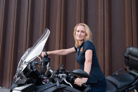 Motociklų sporto vadovė turi kolegių pasaulyje