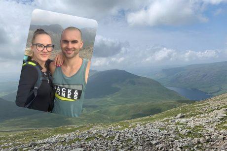 Lietuvių porą Anglijoje suvedė kalnai ir sportas