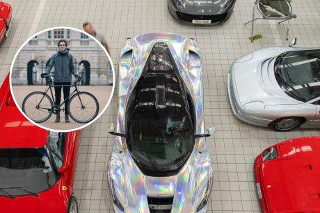 """Ferrari"" salone Londone pirkėjus pasitinka veiklus lietuvis"