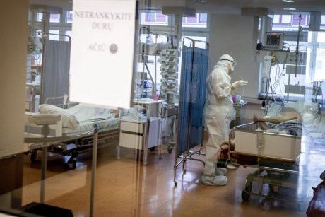 Ligoninėse šiuo metu gydomi 923 COVID-19 pacientai, iš jų 100 – reanimacijoje