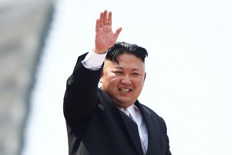 """Šiaurės Korėjos lyderis gavo """"puikų"""" D. Trumpo laišką"""