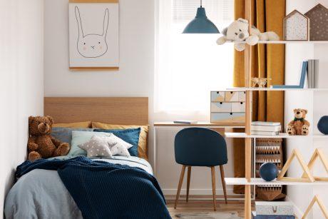 Kaip išsirinkti vaikų kambario baldus?