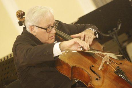 Šalies vadovai pasveikino violončelininką ir dirigentą D. Geringą 75-ojo jubiliejaus proga