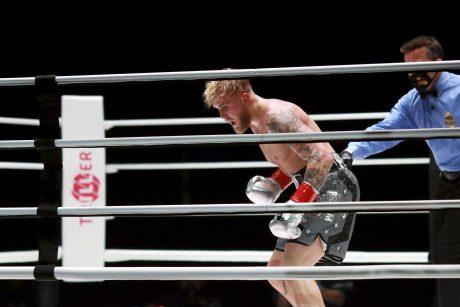 NBA dėjimų konkursų karalius bokso ringe buvo pasiųstas į nokautą