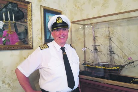 Jūrų kapitono dovana laivyno šimtmečiui