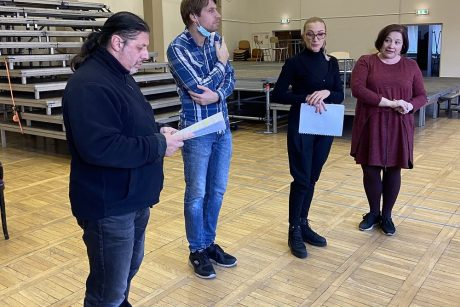 "Atgims Prūsijos karalystės laikus menanti komiška opera ""Pulko duktė"""