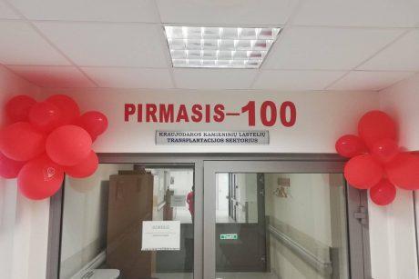 Kauno klinikose sėkmingai atlikta 100 kaulų čiulpų transplantacijų