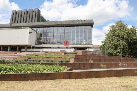 Netrukus Vilniuje pradės veikti rekonstruotas fontanas prie Operos ir baleto teatro