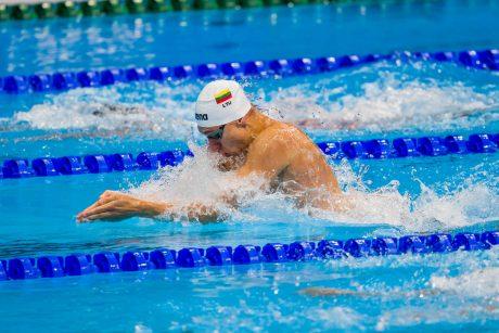 A. Šidlauskas nepateko į 200 m plaukimo krūtine rungties finalą
