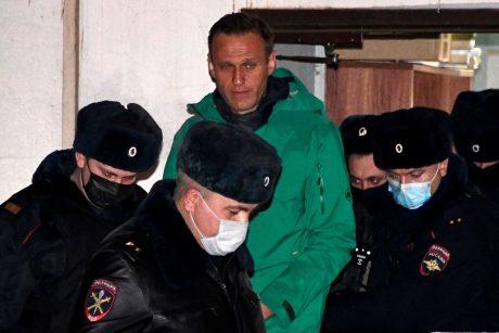 """A. Navalno komanda paskelbė tyrimą apie V. Putino """"slaptus rūmus"""""""