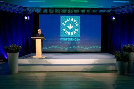 I. Šimonytė: žaliasis kursas – vienas iš svarbiausių šios Vyriausybės prioritetų