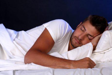 miegoti didelę varpą
